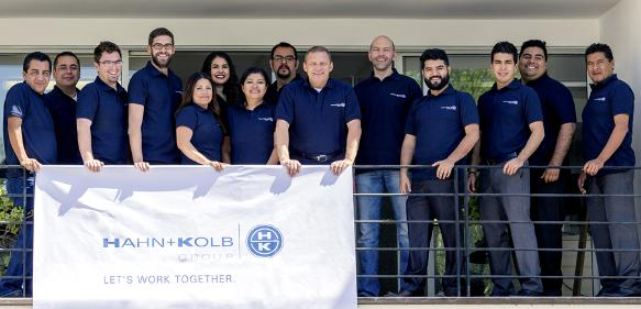 Hahn+Kolb Mexiko Team