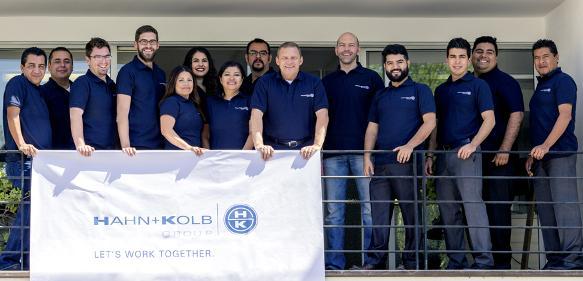 Hahn+Kolb Mexiko Team