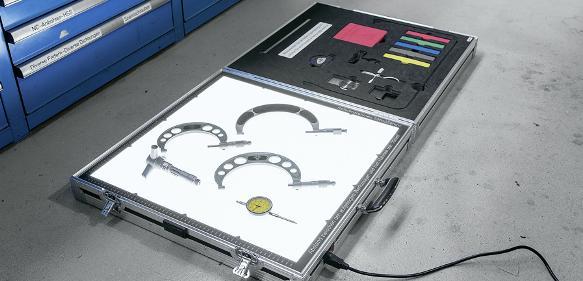 Hahn Kolb Mobiler Werkzeugscanner