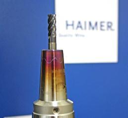 Haimer Power Mill VHM-Fräser mit Schrumpfaufnahme