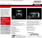 News: Relaunch der FRITSCH-Homepage