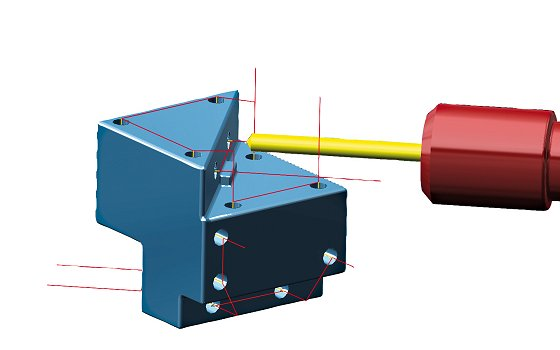 CAD/CAM-System, AMB: H4/B32: Optimierte Bearbeitungsstrategien