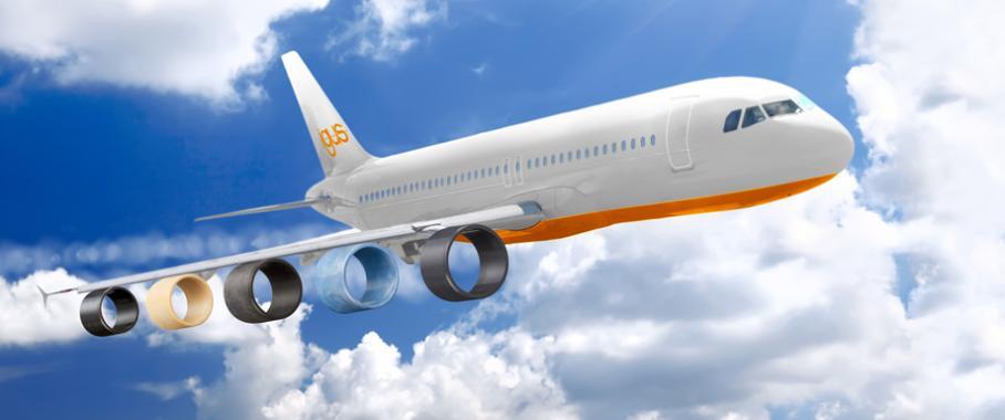 Igus-Iglidur-Flugzeug