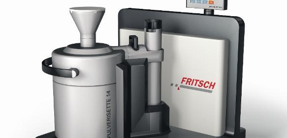 Die neue Rotor-Schnellmühle Pulverisette 14 premium line dient zur effizienten Vor- und Feinzerkleinerung von Proben.