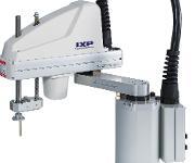 Scara-Roboter mit der Serienbezeichnung IXP der Firma IAI Industrieroboter