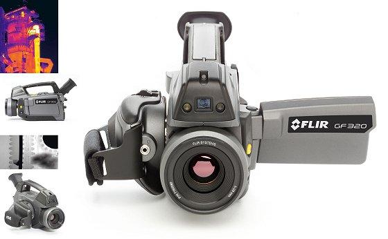Infrarotkamera: Zum Orten von Gaslecks