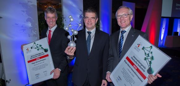 Trumpf, Rittal, Schmalz gewinnen Deutschen Innovationspreis