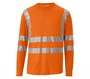 Baustelle: Shirts in Warnfarben