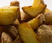 Kartoffeln gebacken mit Schale