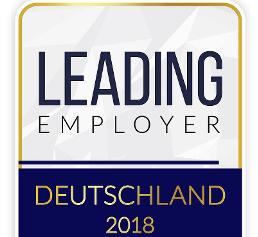 Auszeichnung: Knauer ist Leading Employer 2018