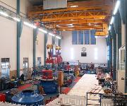 Konecranes Schluchseewerk Maschinenhaus-Zweirägerbrückenkrane