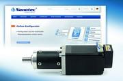 News: Nanotec bietet Online-Konfigurator