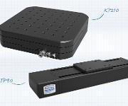 Kreuztisch KT210 und der Lineartisch LTP90 von Steinmeyer Mechatronik