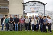 Kabelexperte bietet 11 Ausbildungsberufe und Studiengänge: 19 Azubis starten bei Lapp