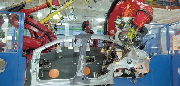 Open Robo Gate bei Fiat