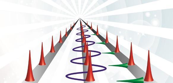Modengekoppelte Laser können extrem genaue sogenannte optische Puls-Züge erzeugen, die sich als hochpräzise Taktgeber eignen. Forscher haben bei DESY nun so ein Laser-Metronom entwickelt, das zahlreiche Laser- und Mikrowellen-Quellen erstmals mit Attosekunden-Genauigkeit in einem kilometergroßen Netzwerk synchronisieren kann. (Bild: DESY/Polina Şafak)