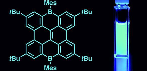 Bor-haltige Nanographene