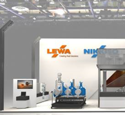 Messestand Lewa