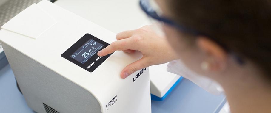 Umwälzthermostat ohne Kühlmittel: Thermoelektrisch und dadurch kompakt