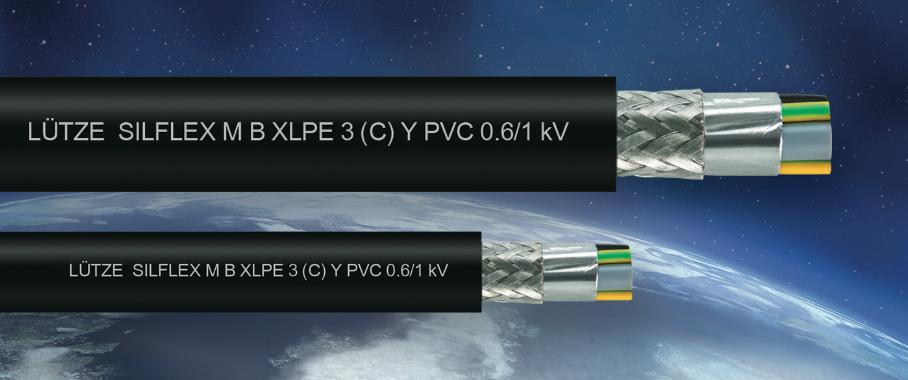 Lütze Silflex Motor- und Frequenzumrichterleitungen.