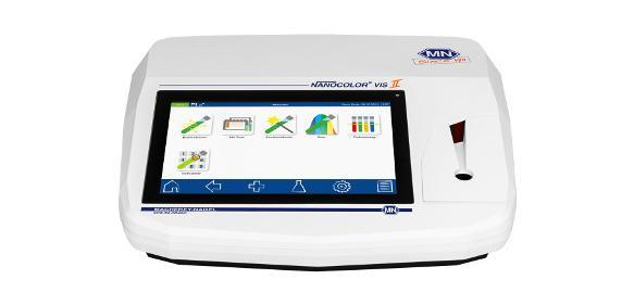 Das Spektralphotometer Nanocolor® VIS II