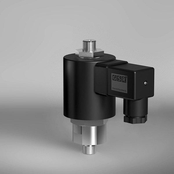 Anzeige - Produkt der Woche: Strömungsoptimiertes Magnetventil für hohe Viskositäten bis 1500 mm²/s