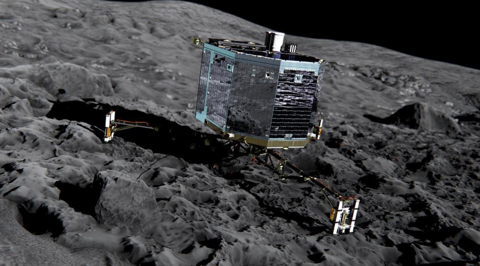 Auf der Jagd nach den großen Kometen: Landung auf dem Brocken