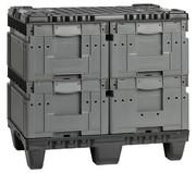 Palettensysteme: Behälter ohne Deckel