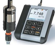 Die mobile Online-Diagnoselösung MemoView überwacht Memosens-Sensoren im laufenden Betrieb (Bild: Knick Elektronische Messgeräte)