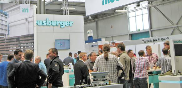 Messestand der Meusburger Gruppe