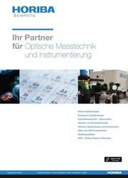 Neue Gesamtbroschüre: Optische Messtechnik und Instrumentierung