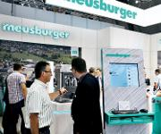 AMB-Messestand Meusburger