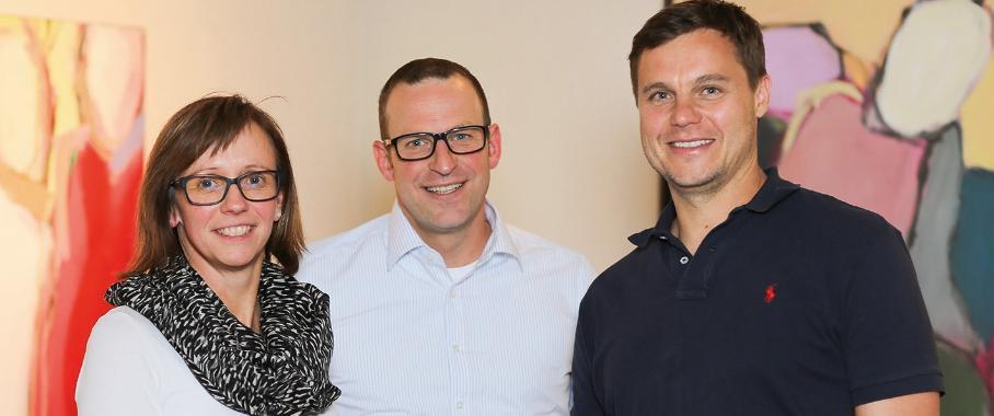 Bettina Steuber, Udo Fuchslocher, Guntram Meusburger