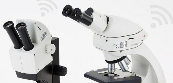 WLAN-fähige Mikroskop-Digitalkameras