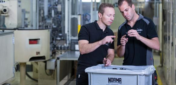 Norma Group freut sich über einen Großauftrag: Installation ohne Werkzeug