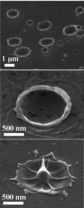 Lasertechnik: Laserblitze erzeugen Nano-Antennen