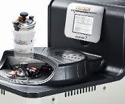 Die Planeten-Mikromühle Pulverisette 7 premium line für kleine Probenmengen.