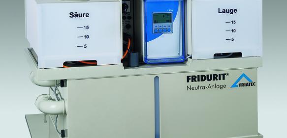 Fridurit-Neutralisationsanlage