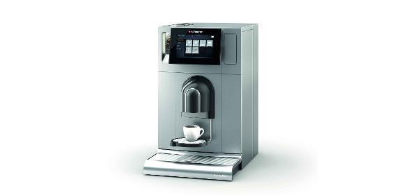 "Kaffeeautomat mit lackierter Kunststoffverkleidung"""