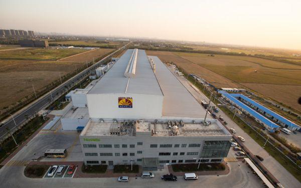 Produktionsstandort für hitzebehandelte Aluminiumbleche: Novelis eröffnet Werk in China