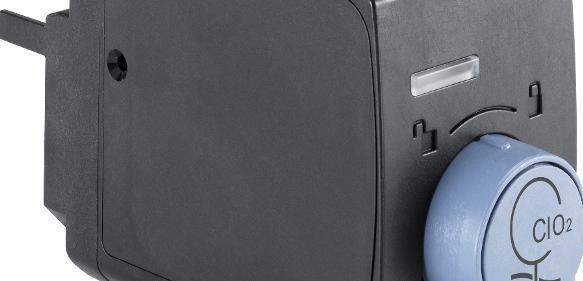 Bürkert hat mit dem Sensor-Cube Typ MS02 sein Online-Analyse-System Typ 8905 erweitert. Wahlweise kann nun auch freies wirksames Chlor oder Chlordioxid bestimmt werden.