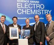Gruppenfoto mit Preisträgern