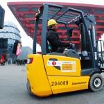 Intralogistik: Jungheinrich rockt die EXPO Shanghai