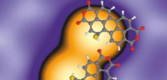 PTCDA-Moleküle