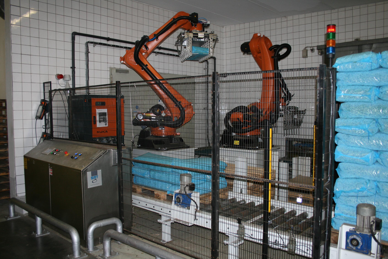 SMT erweitert Roboter-Anwendung:: Hoch mit dem jungen Gemüse