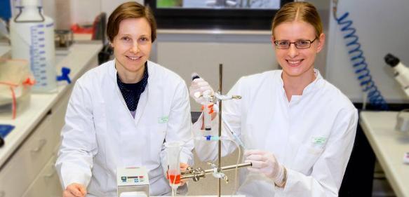 Dr. Daniela Wenzel (links) und Dr. Sarah Rieck