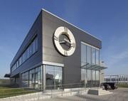 Schlüsselfertiger Industriebau: Neuer Firmensitz für Perrot