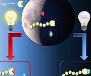 Wie sich mit Licht chemische Prozesse schalten lassen, haben Wissenschaftler des KIT gemeinsam mit internationalen Kollegen grundlegend untersucht. (Graphik: KIT)