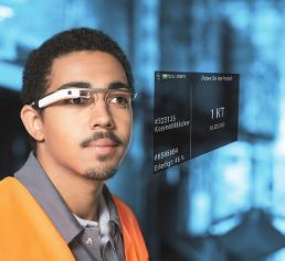 Picavi Datenbrille Display