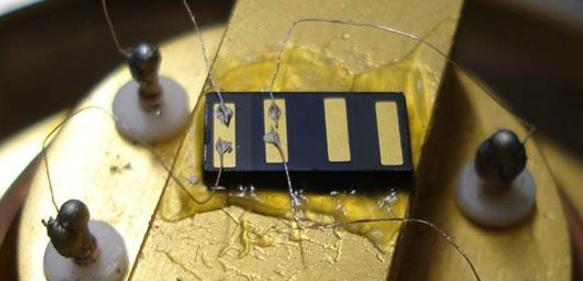 Polaron-Solarzelle